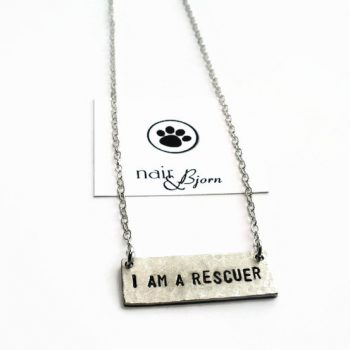 I am a Rescuer Necklace Nair _ Bjorn