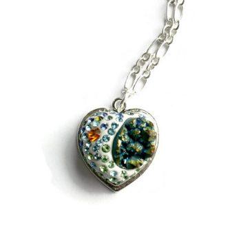 My Druzy Heart Necklace