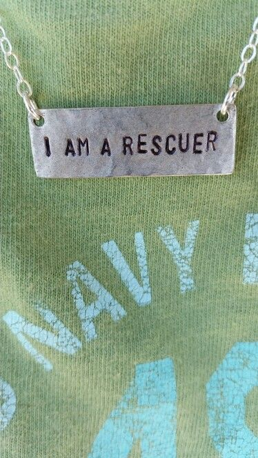 i am rescuer Necklace