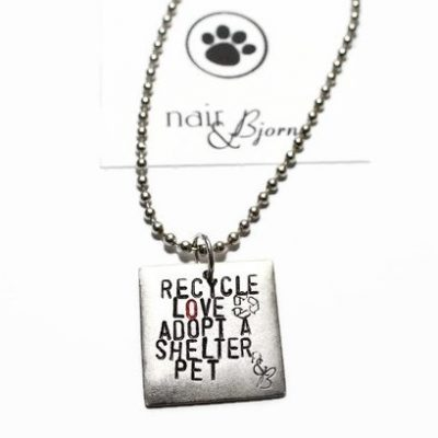 Recycle Love Necklace