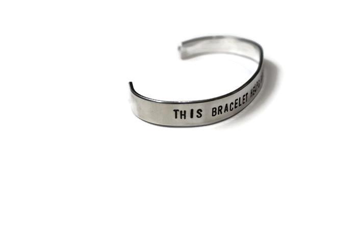 this bracelet save rescue animals nair bjorn