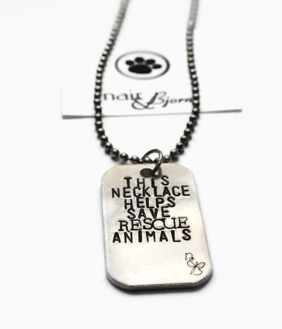 This Necklace Saves Rescue Animals