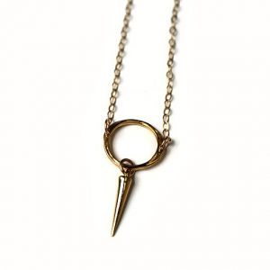 Eternity Gold Point Necklace – As seen on The Vampire Diaries