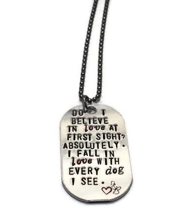 Do I Believe In Love At First Sight Necklace