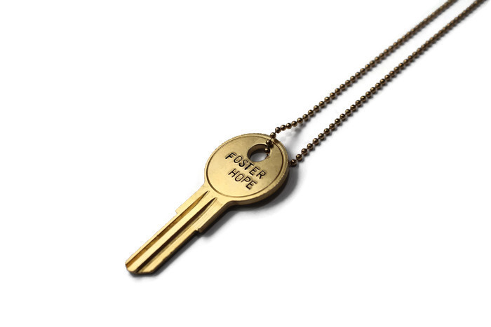 Foster Hope Key Necklace