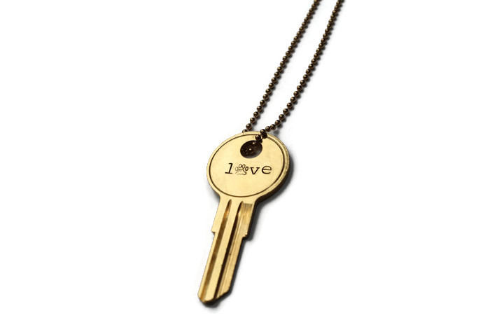Love Is The Key Necklace