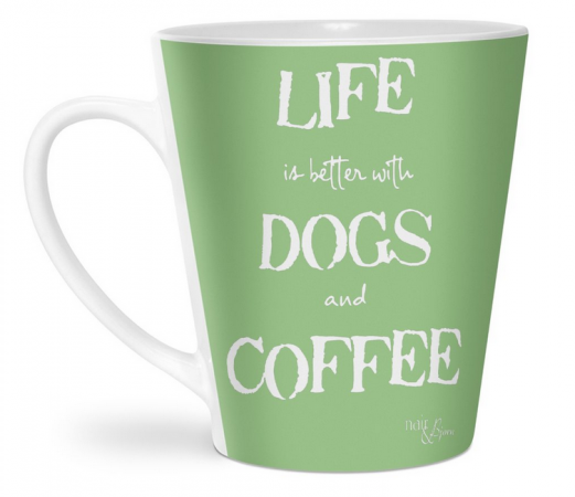 Life is Better with Dogs and Coffee