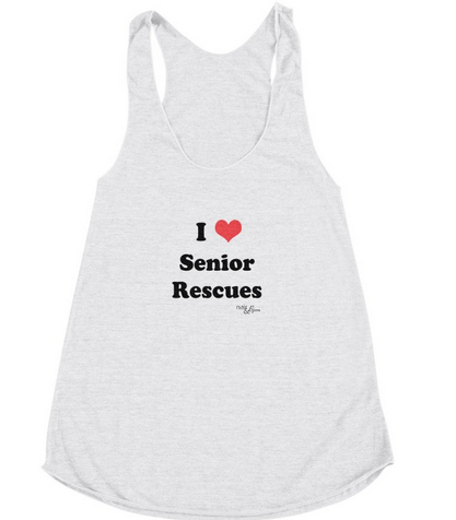 I Love Senior Rescues Animal Adoption Gift