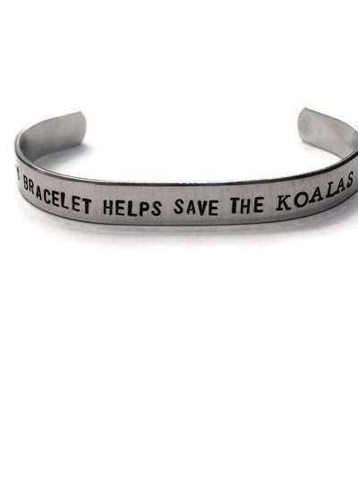 This Bracelet Helps Save The Koalas