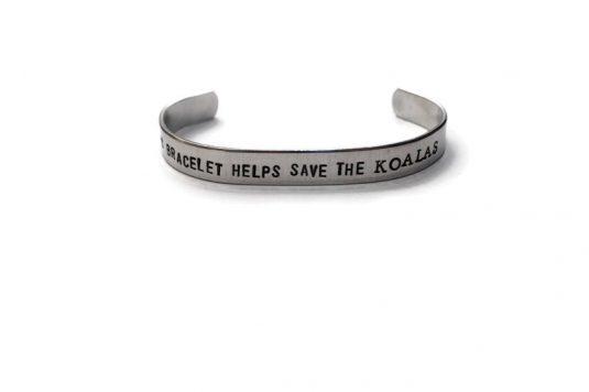 This Bracelet Helps Save The Koalas