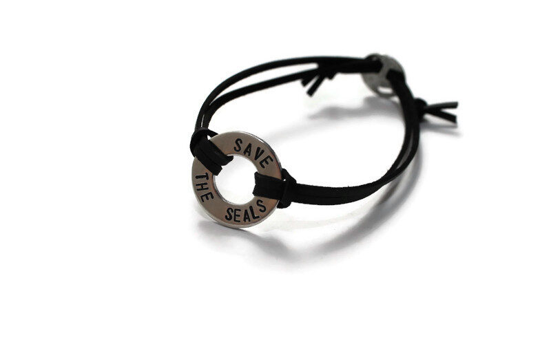 Save The Seals Bracelet