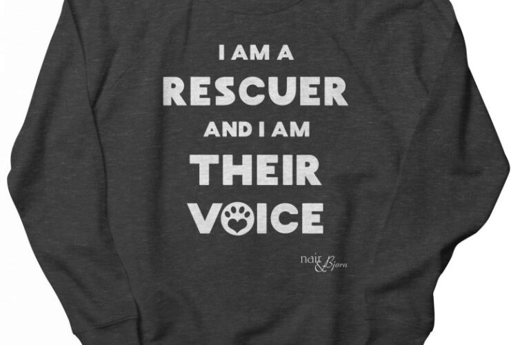 I Am a Rescuer and I Am Their Voice